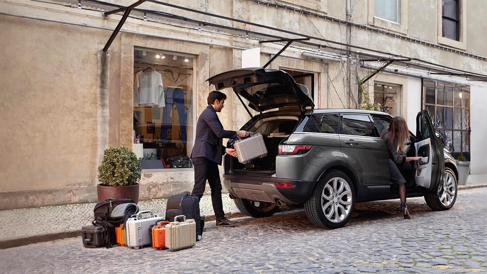 2017 Range Rover Evoque trunk