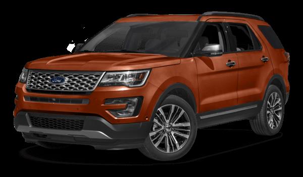 2017 Ford Explorer Platimum