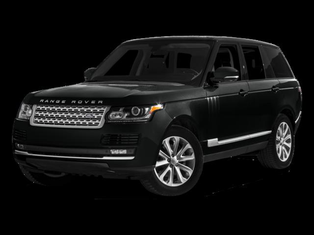 black 2016 Land Rover Range Rover HSE