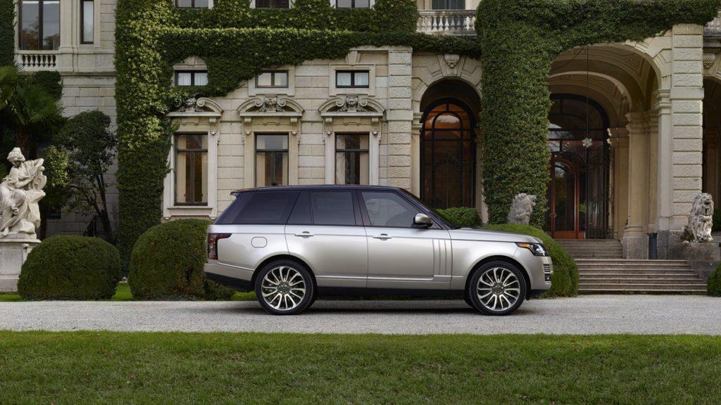 white 2017 Land Rover Range Rover