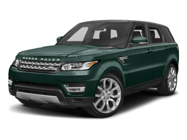 green 2017 Land Rover Range Rover Sport HSE Dynamic