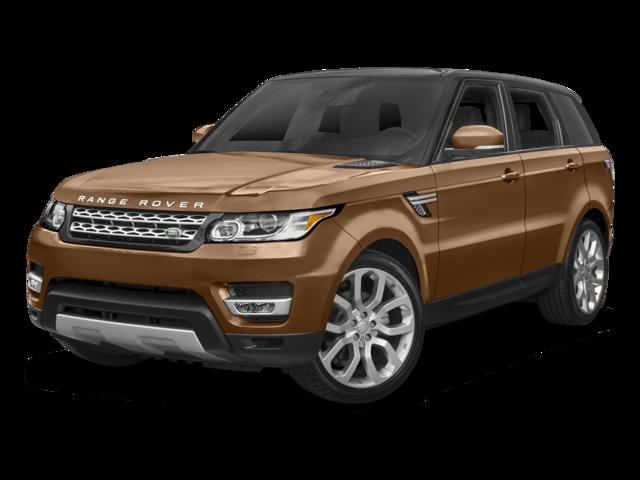 orange 2017 Land Rover Range Rover Sport HSE