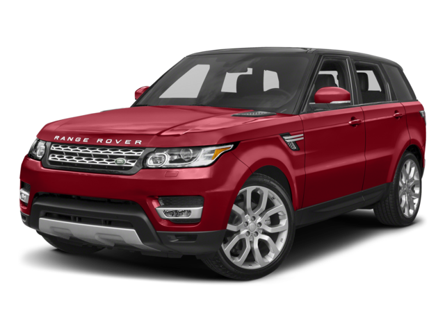 red 2017 Land Rover Range Rover Sport SE