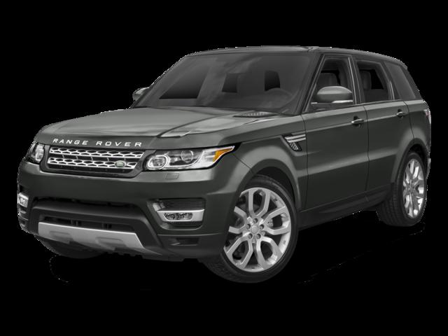 grey 2017 Land Rover Range Rover Sport SVR