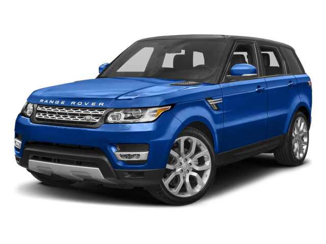 blue 2017 Land Rover Range Rover Sport Supercharged