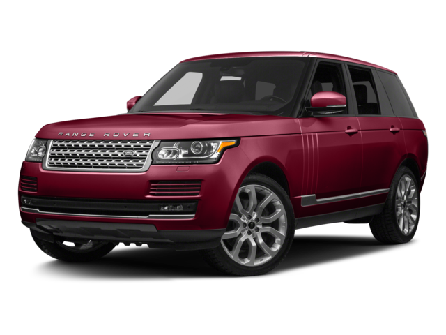 red 2017 Land Rover Range Rover Supercharged