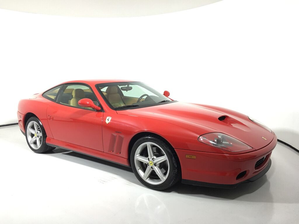 2002 Ferrari 575M Maranello 2dr Cpe F1 Rear Wheel Drive 2 Door Car