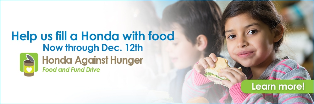Honda Against Hunger-Website Banner