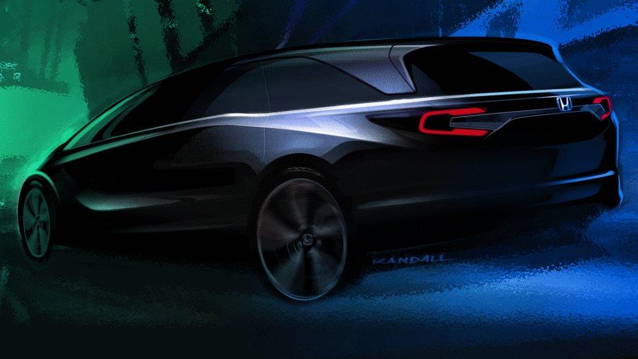Honda-odyssey-2018-sketch