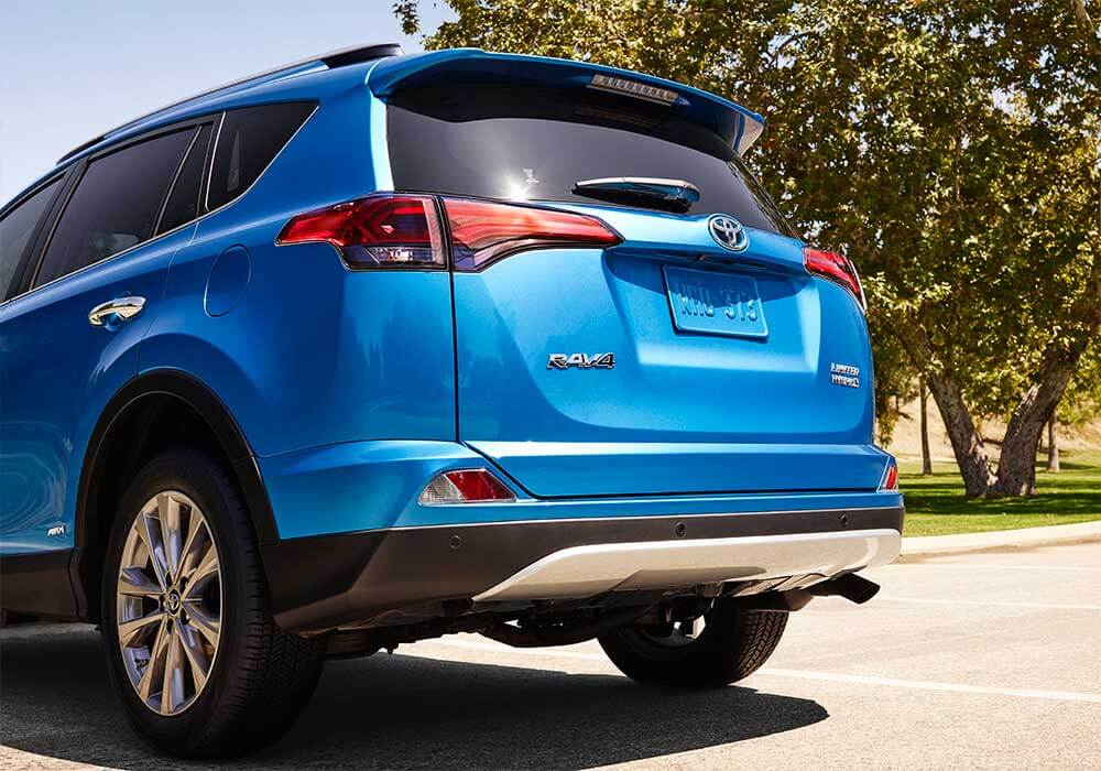 2016 Toyota RAV4 Hybrid rear view