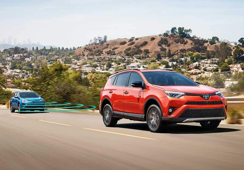 2016 Toyota RAV4 Hybrid safety tech
