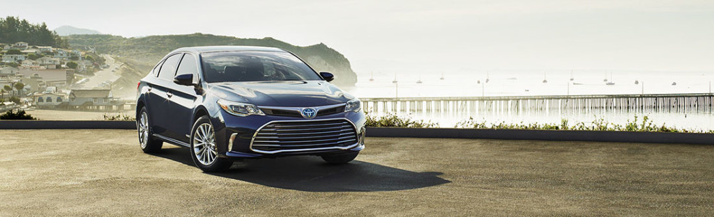 2016 Toyota Avalon water