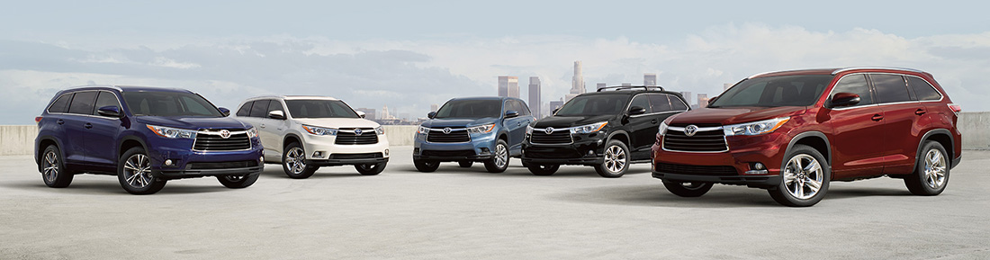 2016 Toyota Highlander group