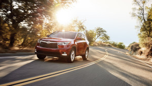 2016 Toyota Highlander red