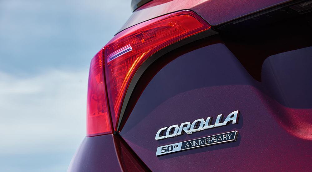 2017 Toyota Corolla design
