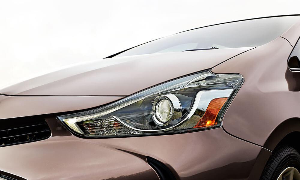 2017 Toyota Prius v headlight