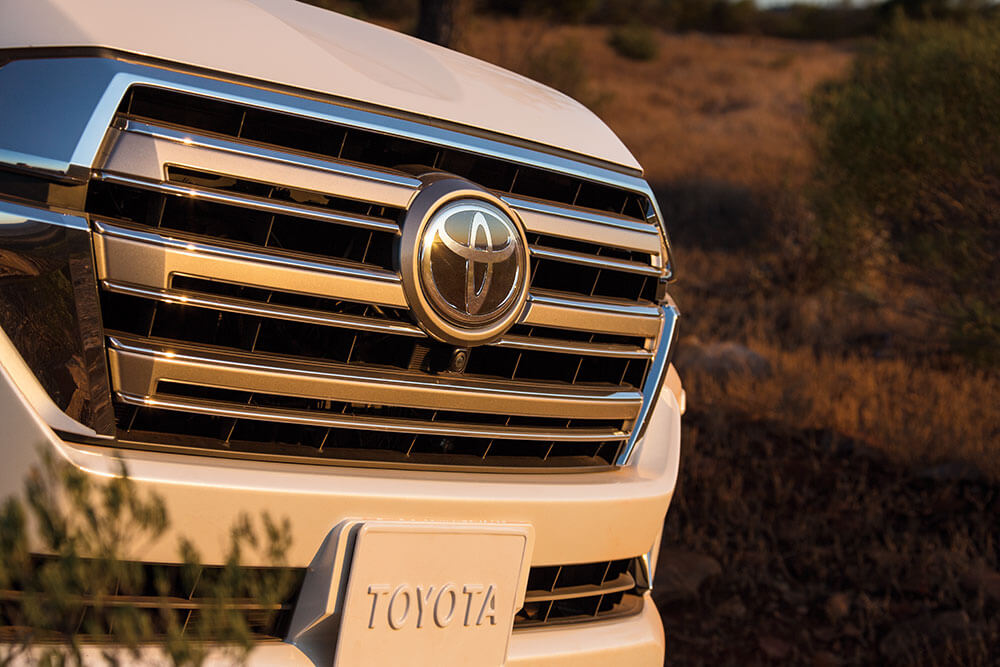 2017 Toyota Land Cruiser design