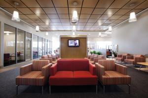 Lounge, New Car Showroom