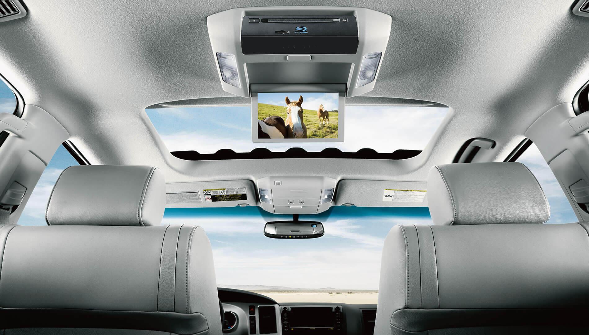 2017 Toyota Sequoia technology interior