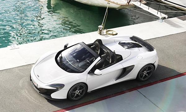 650S Spider Overview