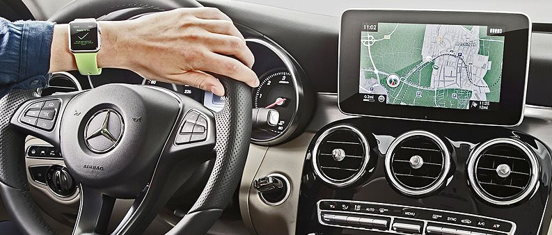 Your Apple Watch With Your Mercedes-Benz | Mercedes-Benz of