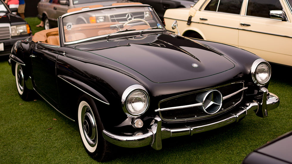 Classic cars mercedes images for Mercedes benz vintage cars