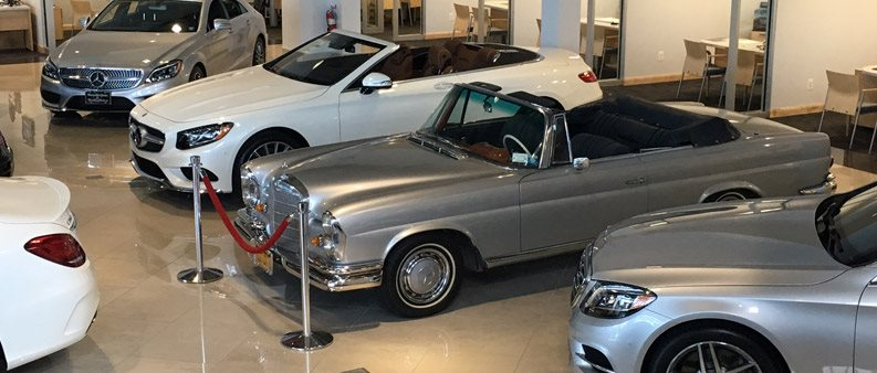 1969 Mercedes-Benz 280SL Converitble & 2017 Mercedes-Benz 280SL