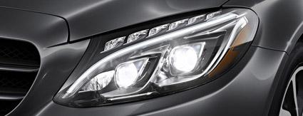 Mercedes-Benz Headlight