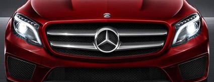 Mercedes-Benz GLA Grill