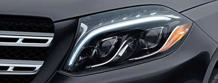 Mercedes-Benz Headlight