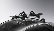 Mercedes-Benz Ski and Snowboard Rack, Standard