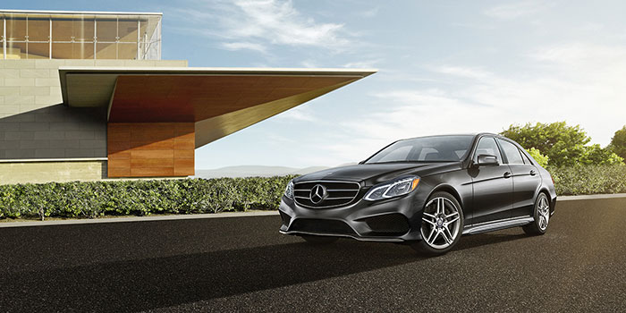 <span style='font-size: .5em'>Ex-Loaner<br>2017 Mercedes-Benz</span><br>E-Class