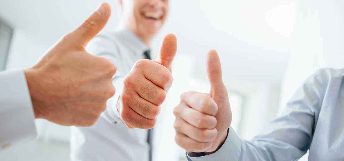 Careers Thumbs up