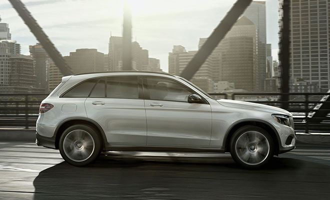 Mercedes model lineup coupes sedans suvs and more for Mercedes benz glc 400