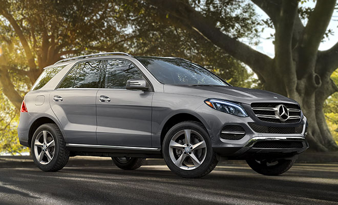 Mercedes model lineup coupes sedans suvs and more for Mercedes benz gle550e