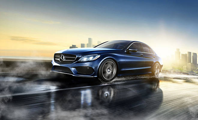 2016 Mercedes C-Class C300 Sedans in West Chester Ohio
