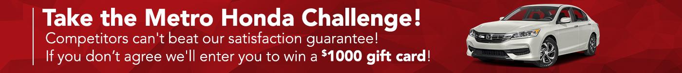 Metro Honda Challenge