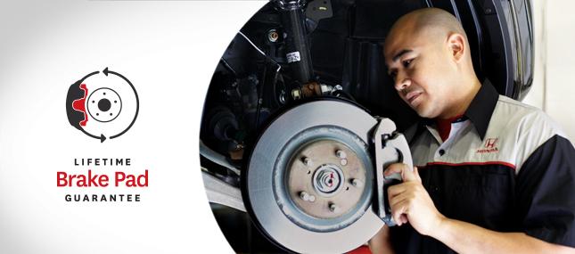 Honda-Brake-Pads-lifetime-guarantee