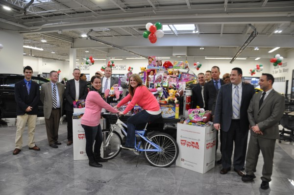 Quirk Toys for Tots drive