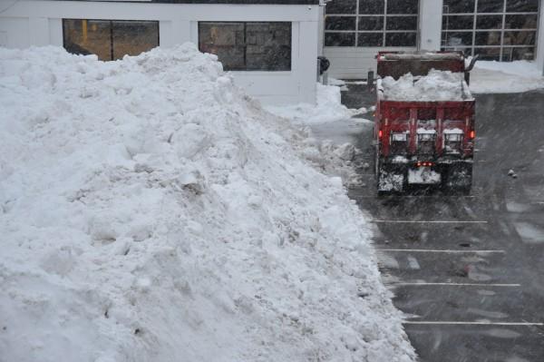 Snow for Boston