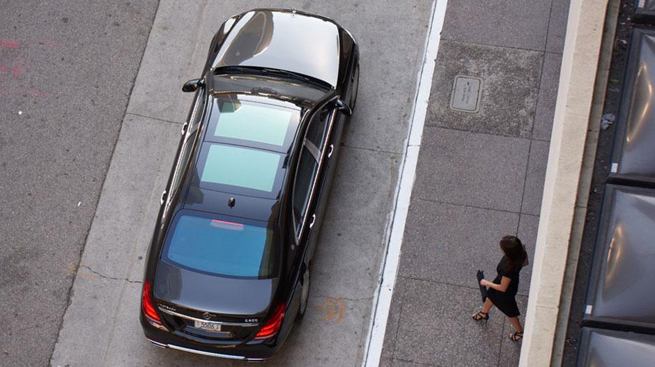 2017 Mercedes-Benz S-Class Front Left View