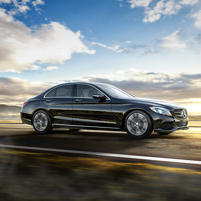2016 Mercedes-Benz C300 Side View Driving