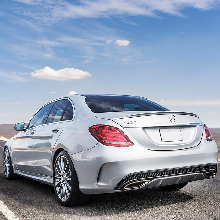 2016 Mercedes-Benz C-Class Rear View