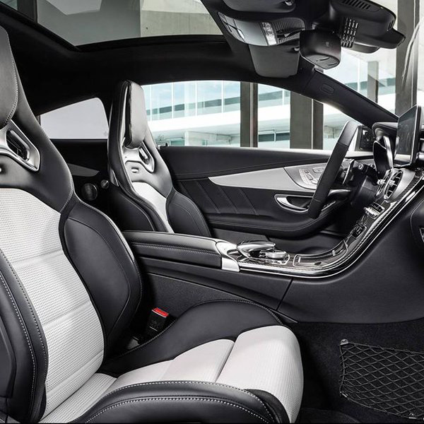 2016 Mercedes-Benz C-Class Seating