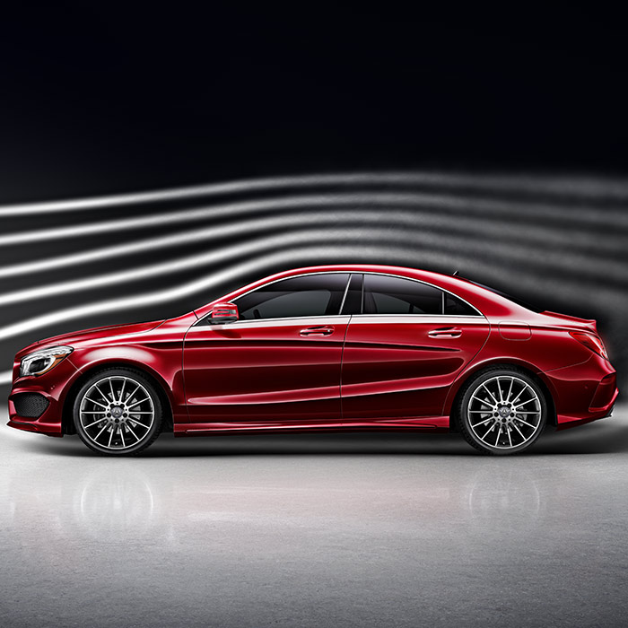 2016 Mercedes-Benz CLA Side View