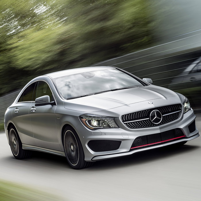 2016 Mercedes-Benz CLA Driving