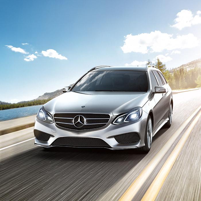 2016 Mercedes-Benz E-Class Front View