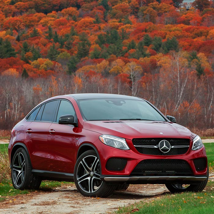2016 Mercedes-Benz GLE-Class Front View