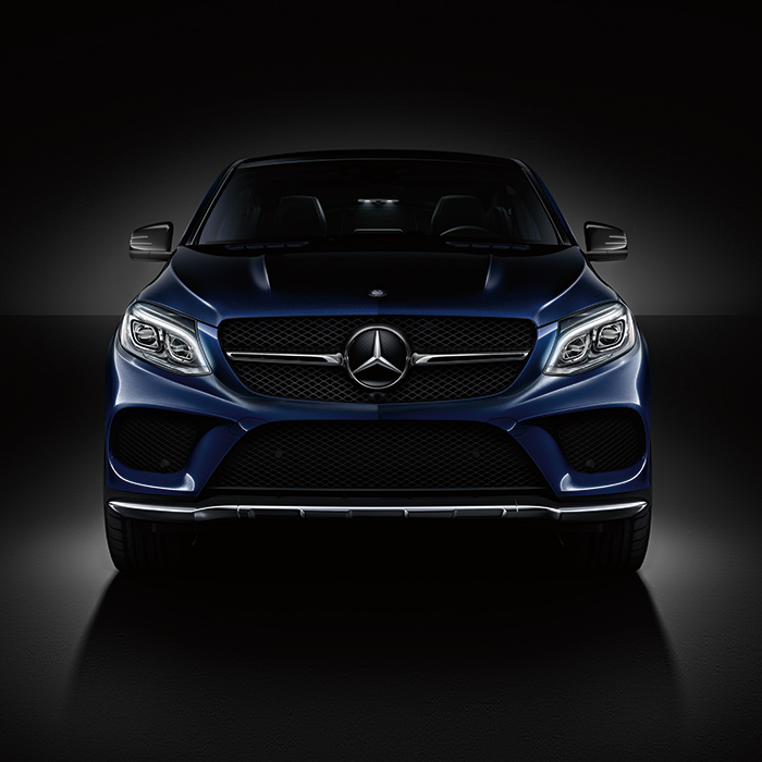 2016 Mercedes-Benz GLE Front View