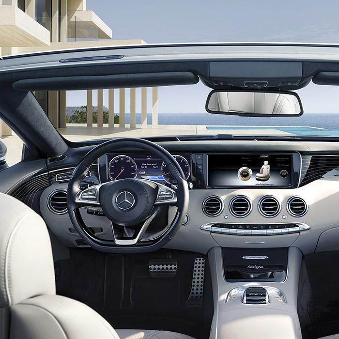 2016 Mercedes-Benz S-Class Dashboard